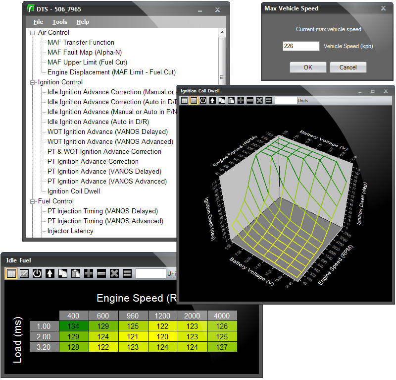 Renovelo - Domino Tuning Suite - BMW OBD1 Tuning Software